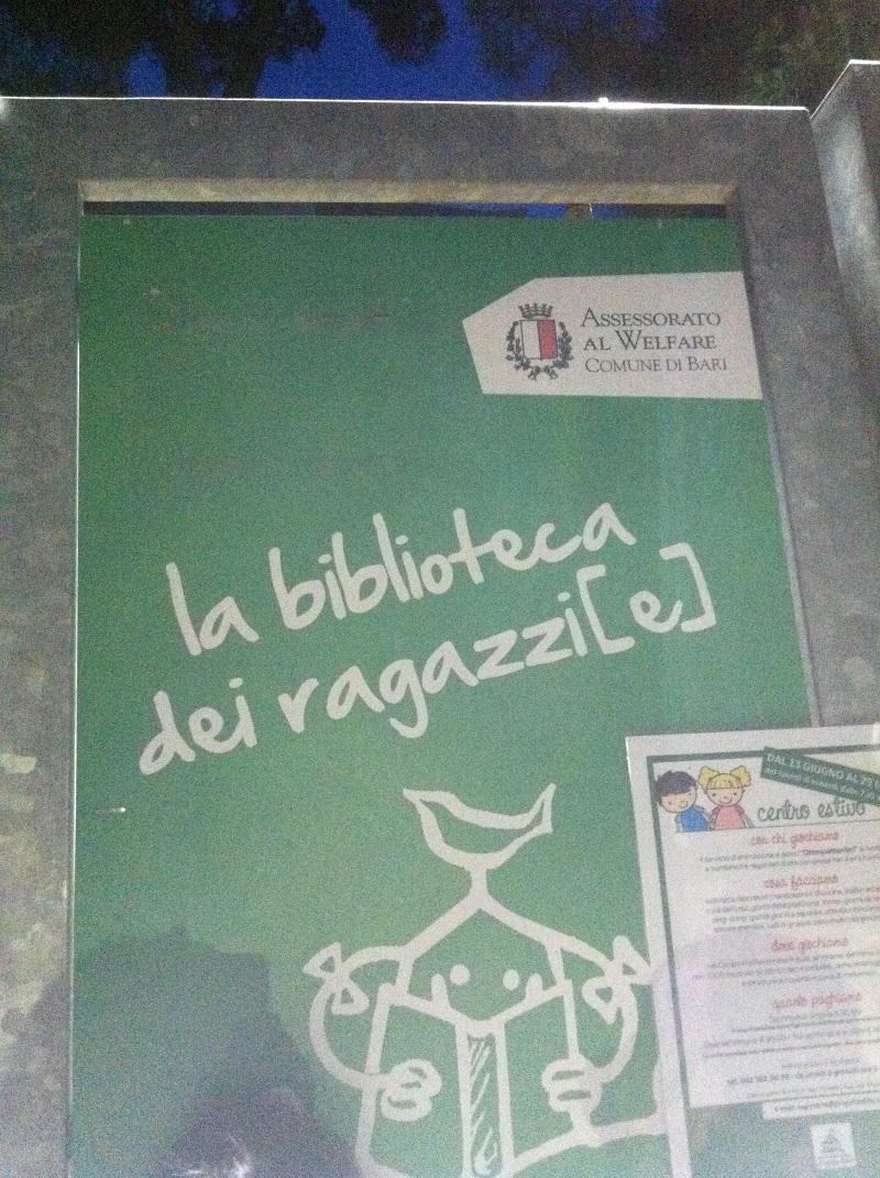 """""""Letti di notte"""" alla Biblioteca dei Ragazzi di Bari"""
