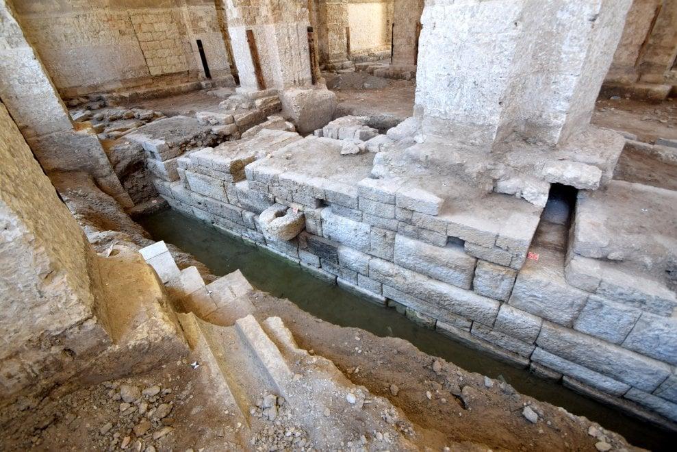 Una grande scoperta: un antico molo a Bari Vecchia
